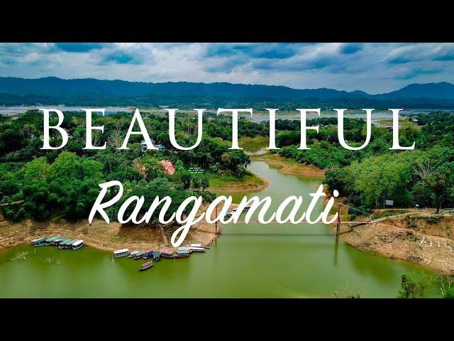 Aerial of Beautiful Rangamati [HD]
