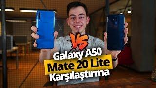 Galaxy A50 ve Mate 20 lite karşı karşıya! Orta segmentin kralı kim?