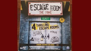 Virus - Escape Room The Game - Unbox and Play