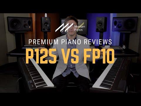 🎹Yamaha P125 Vs Roland FP10 Digital Piano Comparison, Review & Demo🎹