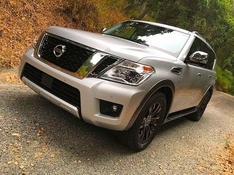 2017 Nissan Armada - A Nissan Patrol for America! TECH REVIEW (2 of 5)