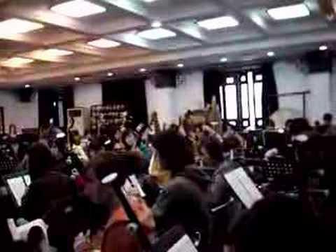 Orchestre traditionnel du conservatoire de Shanghaï