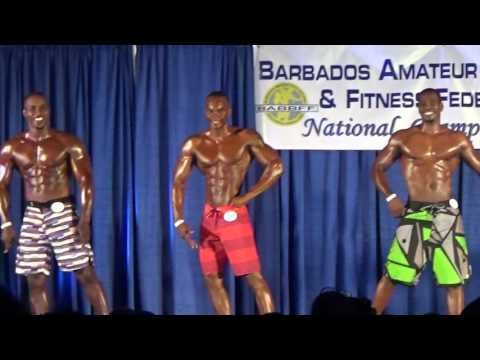 Barbados Amateur Bodybuilding and Fitness Federation National Championships 2016