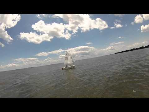 HYC Opti Level 1 sailing windward/leeward course