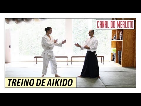 TREINO DE AIKIDO | MINHA PRIMEIRA AULA