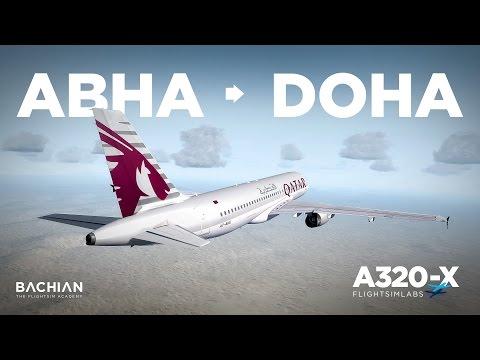 Prepar3D - FSLabs A320 / Abha → Doha