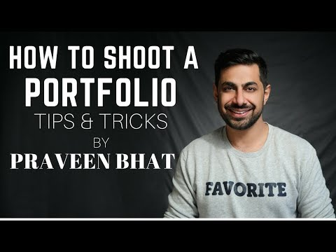 How To Shoot A Portfolio | Tips & Tricks for Modelling Portfolio | Fashion Photographer Praveen Bhat