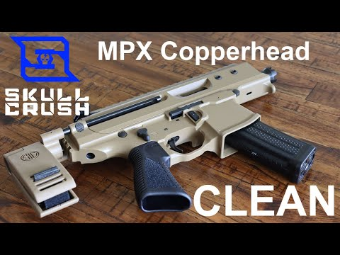How to Field Strip & Clean the Sig Sauer MPX Copperhead