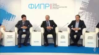 В.Путин, Д.Медведев и Г.Греф о интернет-бизнесе и криптовалюте