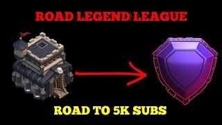 TH9 FIGHT TO LEGEND LEAGUE | LIVE ATTACKS | CLAN GIVEAWAY AT 4.1K SUBS |