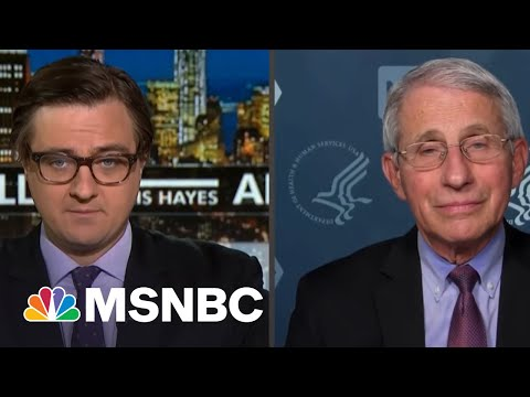 Dr. Fauci Promises To 'Destroy' Chris Hayes In One-On-One Basketball   All In   MSNBC