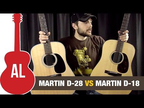 Martin D28 vs D18 - Review and Comparison