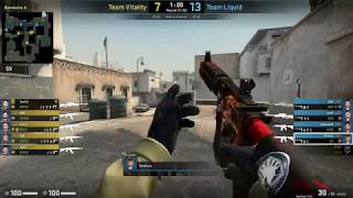 CS:GO POV Demo Liquid Twistzz (24/18) vs Vitality (de_dust2)
