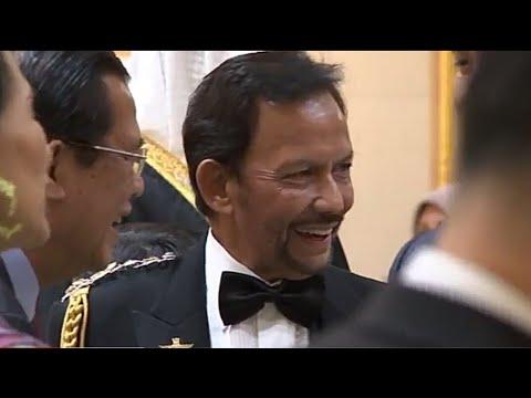 Jubli Emas Sultan Brunei - Malam Persantapan Diraja