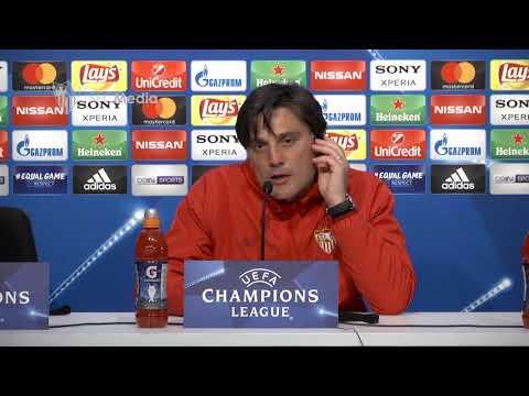 """Montella: """"Mañana tenemos que ser atrevidos"""". 20/02/18. Sevilla FC"""