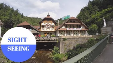 SIGHTSEEING in Triberg in Black Forest in GERMANY