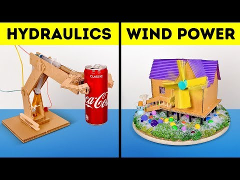 How to Build Cardboard Machines That Work WITHOUT BATTERIES