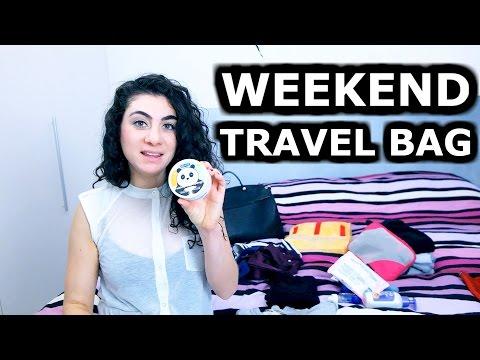 WHAT'S IN MY WEEKEND TRAVEL BAG | ENTERPRISEME TV