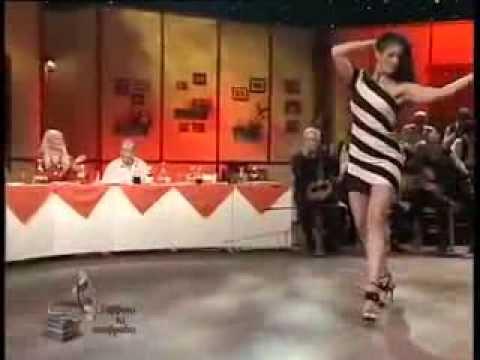Greek Music - Greek Goddess dancing Oriental - ''Misirlou'' song