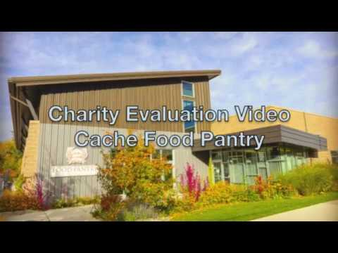 Charity Video Evaluation for Cache Food Pantry - YouTube - Charity Evaluation