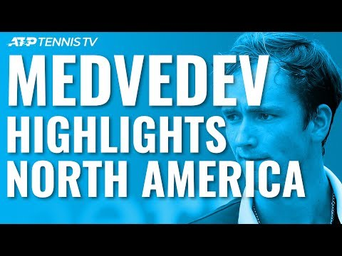 [Medvedev Best Moments in North American Hard Court Swing] All the ingredients of a potential slam winner. Humility not the least of them.