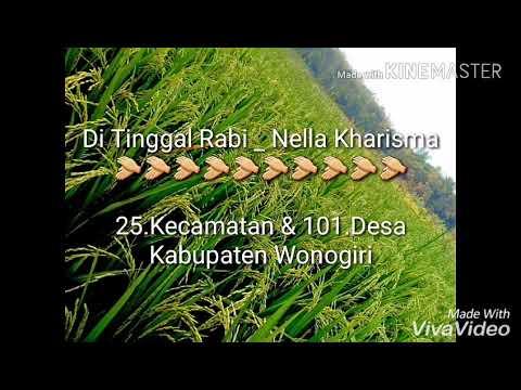 25.kecamatan/101.desa Kabupaten Wonogiri