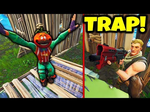 TRAPPING NOOB IN C4 BOX *FOR THE WIN* (Fortnite Battle Royale Gameplay)