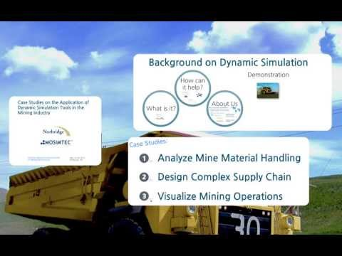 Case Studies On Simulation In Mining By MOSIMTEC