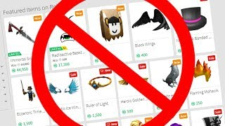 ROBLOX REPLACED MY FAVORITE ITEM.