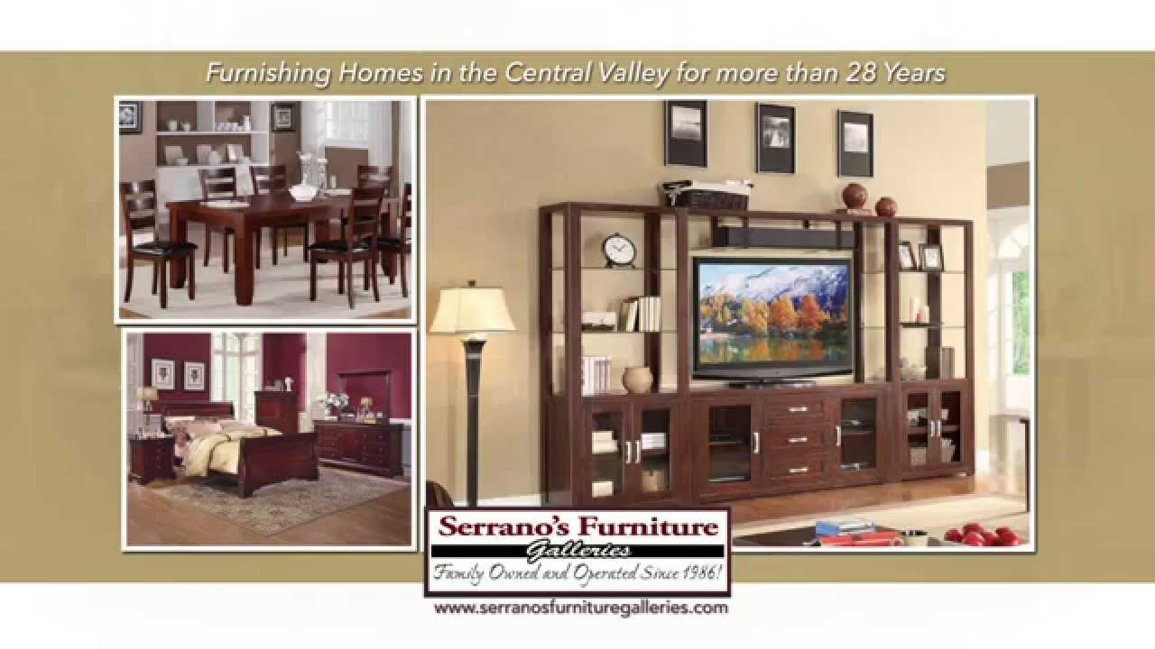 Serranos Furniture FRESNOMADERAVISALIAYouTube
