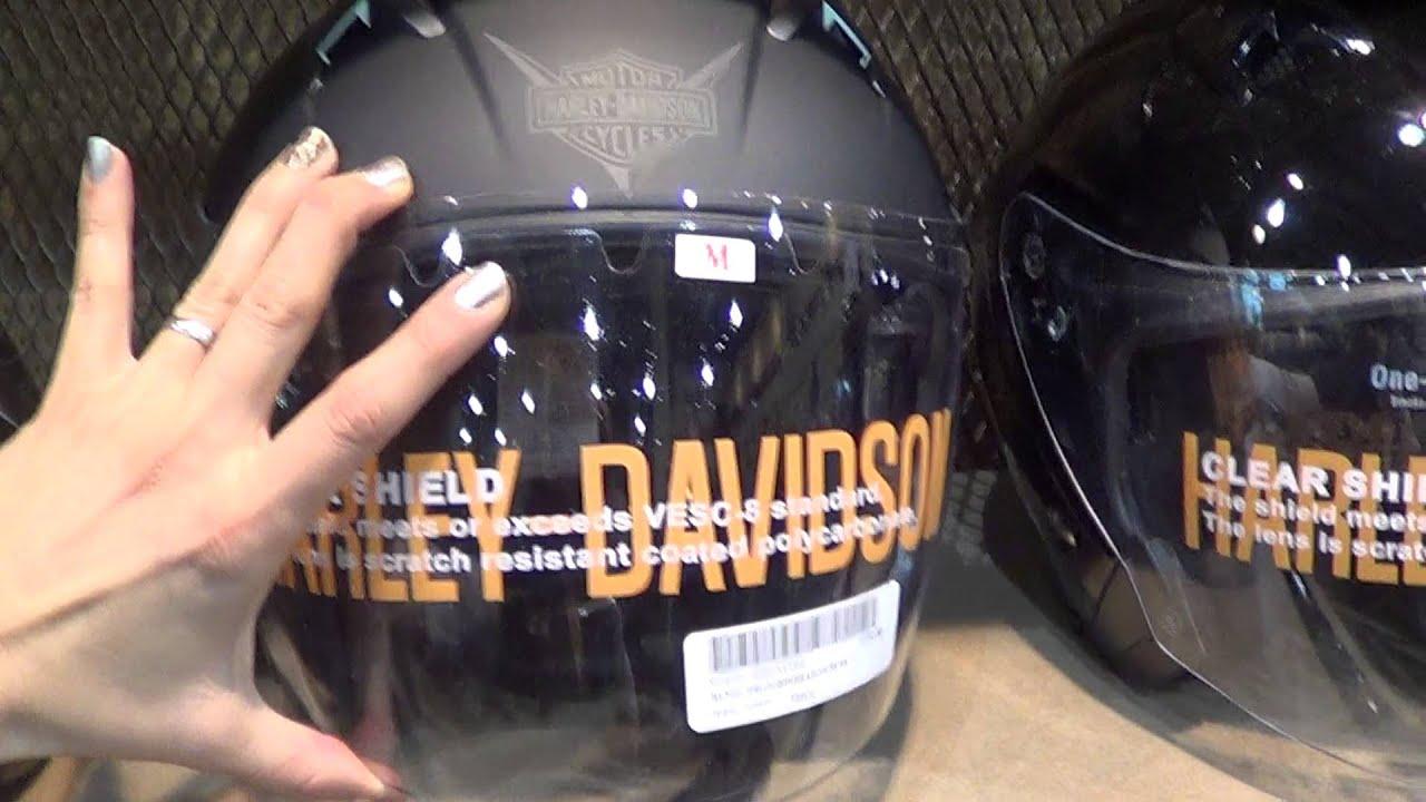 Whiskey River Harley-Davidson 's Helmets - YouTube