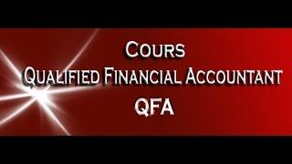 Qualified Financial Accountant (QFA)   ACT
