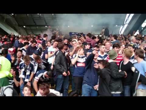 Melbourne Victory Northern Terrace March! Horto Magiko Chant!