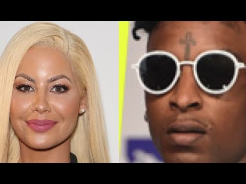 Amber Rose VANISHES From Social Media after Announcing Break Up with 21 Savage, Deletes it all