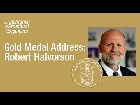 Gold Medal Address 2016: Robert Halvorson
