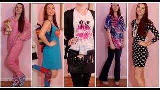 Outfits of the Week: Spirit Week!