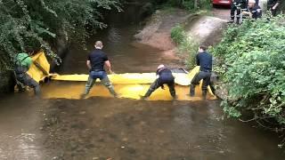 barrage deci rivière watergate sdis allier
