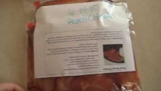 Freezer Meals #1 - Peach Mango Chicken
