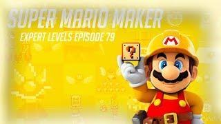 Super Mario Maker - 100 Mario Challenge #79 (Expert Levels)