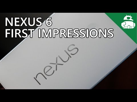Nexus 6 Unboxing and First Impressions!