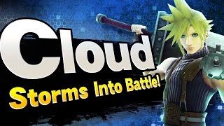 Super Smash Bros. - Cloud Reveal Trailer