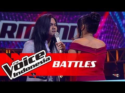 "AXL vs Kardia ""I Finally Found Someone""   Battles   The Voice Indonesia GTV 2018"