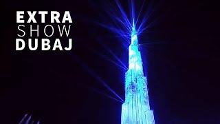 EXTRA BONUS: Svetelná show na veži Burj Khalifa!