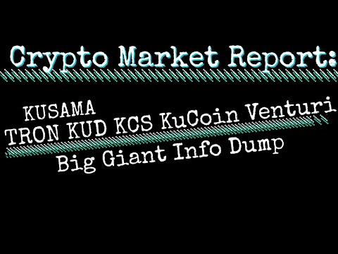 Crypto Talk: KUCOIN KCS Tron Kusama Twitter NEWS and Gossip Venturi Kudex DeFi