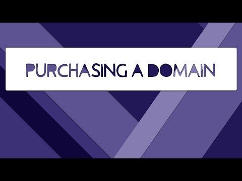 Purchasing A Domain (Google Domains)