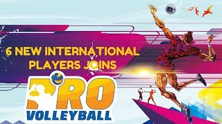 Pro Volleyball announces 6 more International Players | Sports India Live