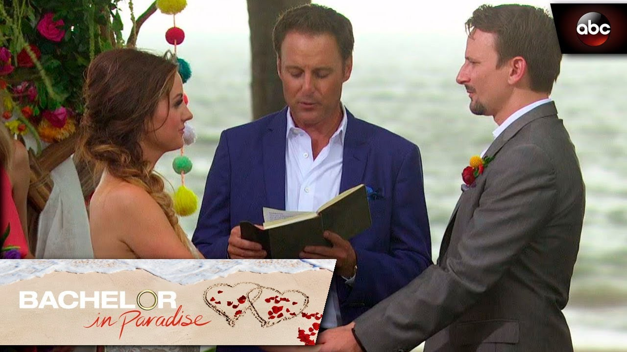 Carly And Evan Wedding.Carly And Evan Get Married Bachelor In Paradise