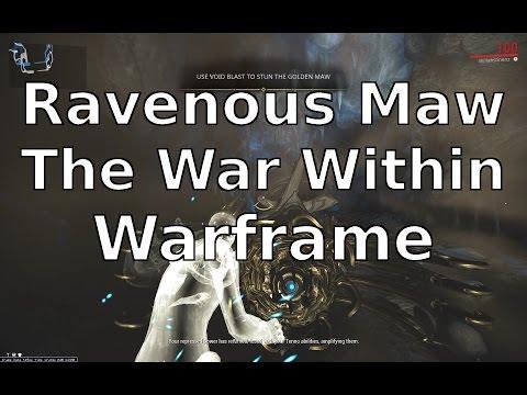 The Ravenous Golden Maw The War Within Warframe thumbnail