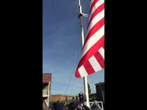 The Great Garrison Flag - Fort McHenry National Monument