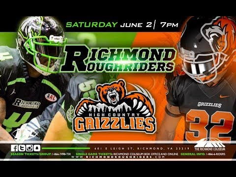 High Country  Grizzlies Vs Richmond Roughriders